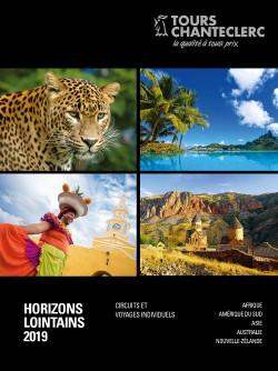 Tours Chanteclerc présente ses nouvelles brochures ÎLES DE RÊVE ET HORIZONS LOINTAINS 2019