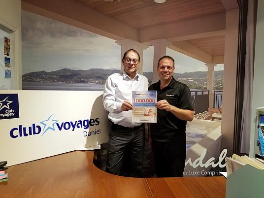 TravelBrands présente le troisième récipiendaire de 100 000 points Récompenses Fidélité