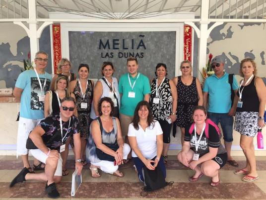 Le groupe au Melia Las Dunas, Cayo Santa Maria