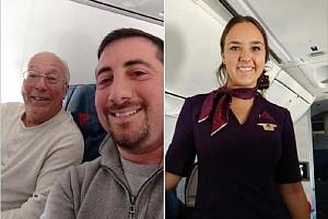Un papa réserve six vols pour passer Noël avec sa fille agent de bord