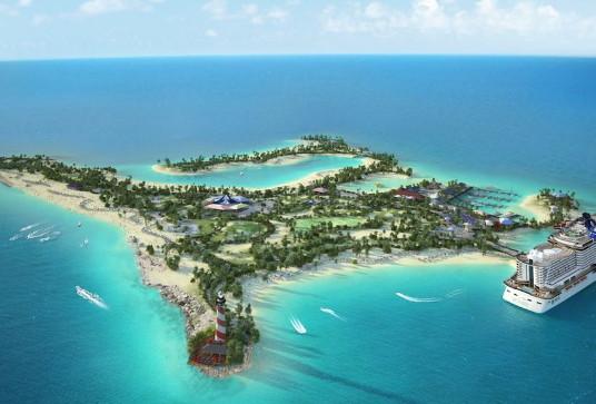 MSC Croisière ouvrira bientôt son île privée Ocean Cay