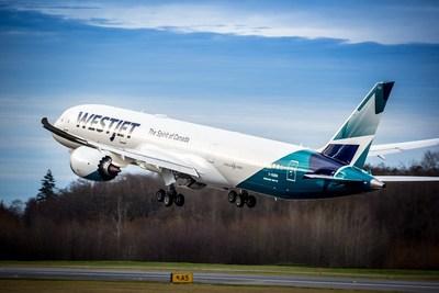 L'arrivée du Dreamliner propulse WestJet dans une nouvelle ère mondiale