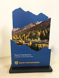 Tours Chanteclerc reçoit les grands honneurs de la part de Rocky Mountaineer