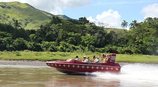 L'excursion sur la rivière Sigatoka est l'une des plus populaires sur l'île de Viti Levu.