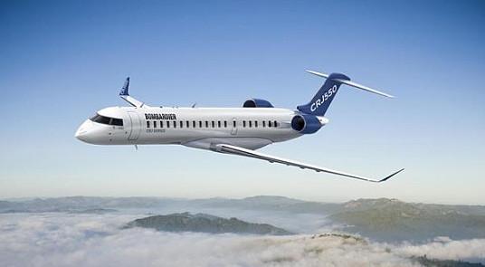 Bombardier lance le CRJ550