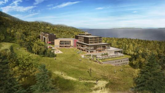 La construction commence ce mois-ci au Club Med Québec Charlevoix