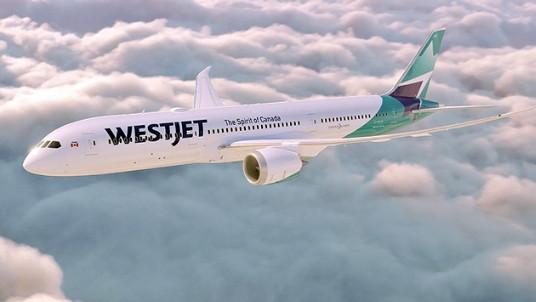 Le Dreamliner de WestJet effectue son premier vol commercial