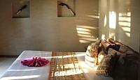 Rien de luxeux dans les chambres du Paradise Taveuni, mais confort, simplicité et proximité de la nature, là-aussi...
