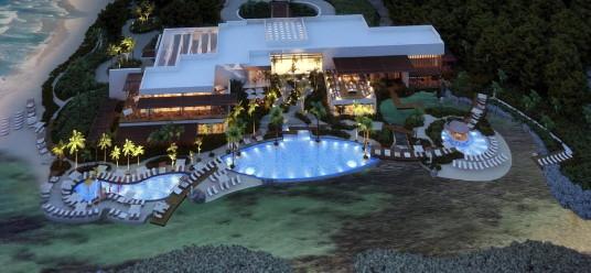 Le projet du Groupe hôtelier Posadas à Tulkal, Riviera Maya.