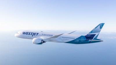 Le Dreamliner de WestJet effectue son premier vol transatlantique (Groupe CNW/WESTJET, an Alberta Partnership)