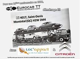 Eurocar TT déménage