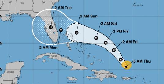 La Floride dans la mire de l'ouragan Dorian