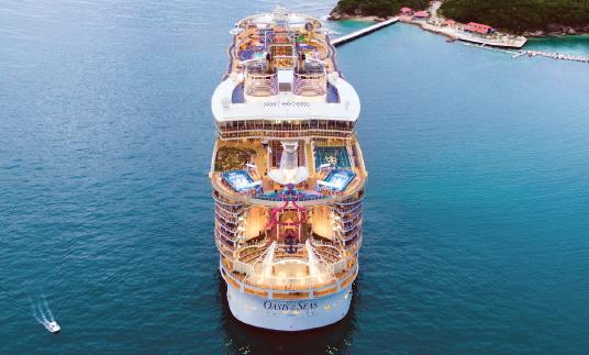 L'Oasis of the Seas en cale sèche pour des rénovations de 165 millions US$