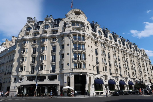 L'hôtel Lutetia à Paris (photo Celette)