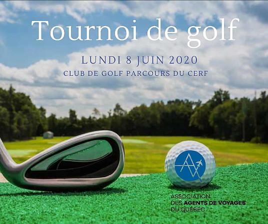 L'AAVQ présente le tournoi de golf de l'industrie touristique