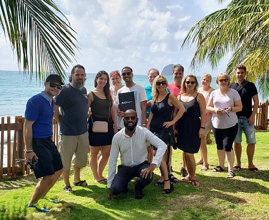 Les agents de voyage québécois à la découverte de la Martinique