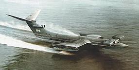 Mi-navire, mi-avion, l'ekranoplane se cherche un futur