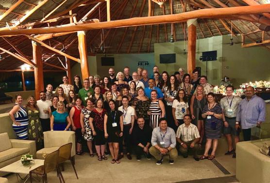 WestJet accueille son Conseil Consultatif des Agents de Voyages à Puerto Vallarta
