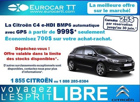 EurocarTT : tarifs été et prolongation de la promo agents
