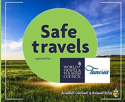 La Tunisie obtient le sceau ' Safe Travel ' du WTTC