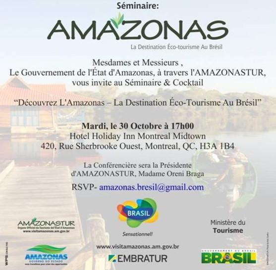 Le Brésil vous intéresse? voici l'occasion d'en savoir plus.