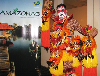 De nombreux artistes amazoniens étaient de la partie