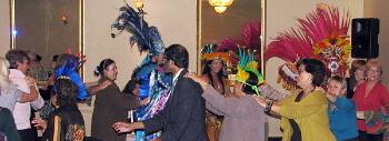 Les agents de voyages charmés par une délégation amazonienne