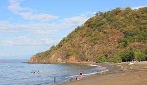 La plage du RIU Palace Costa Rica.