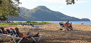La plage du Riu Palace Costa Rica
