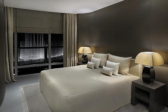 Suite Fontaine à l'hôtel Armani de Dubaï