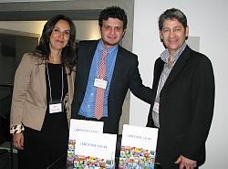 Patricia Pérez, Gabriel Cardona et Camilo Aguilar de Canandes