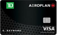 La carte Visa Infinite TD Aéroplan est désignée « meilleure carte de crédit de transporteur aérien » par Rewards Canada