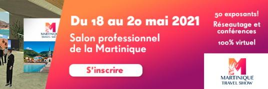 Les inscriptions au Martinique Travel Show sont ouvertes !