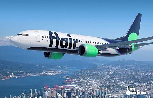 Flair Airlines entre en service avec le premier de 13 nouveaux appareils Boeing 737-8