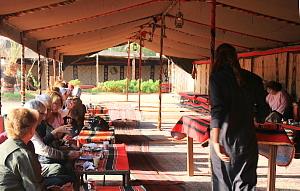 Le campement principal du Captain's Tourist Services
