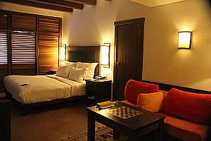 Les chambres de l'Evason Ma'in.