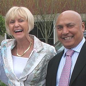 Joan Hunter et Colin Hunter CEO de Sunwing