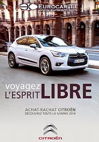 La Brochure électronique 2014 – en couverture la nouvelle Citroën DS4 –