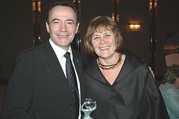 Philippe Sureau et Christiane Théberge PDG de l'ACTA