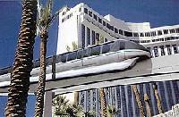 Le monorail de las Vegas encore en panne