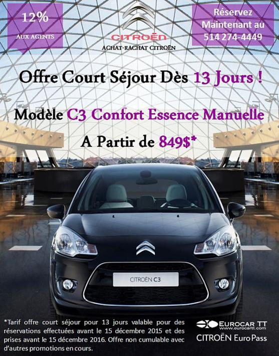 Profitez de l'Achat-Rachat Citroën dès 13 Jours