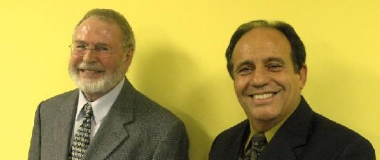 Bernard Beauchamp et Fernando Spatolisano
