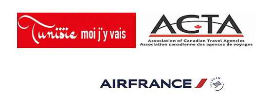 La Tunisie l'Acta et Air France vous convient à un cocktail dînatoire