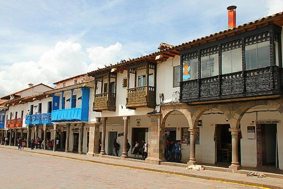 Cusco possède un grand nombre de bâtiments de l'époque coloniale espagnole