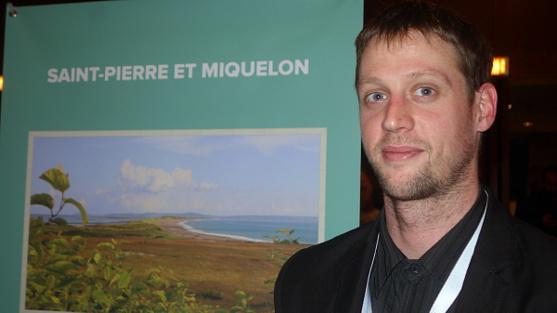 Jean-Pierre Toth agent de production-vente du comité du tourisme de Saint-Pierre et Miquelon