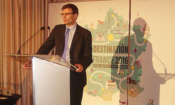 Jean-Noël Rault, vice-président et directeur général d'Air France KLM au Canada