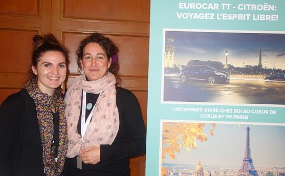 Lucie Leborgne et Carole Barthelemy d'Eurocar TT