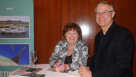 Michèle Rauzon et Eric Johnston d'Alio Tours