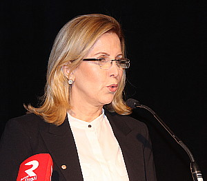 Salma Loumi Rekik, Ministre du tourisme de la Tunisie.