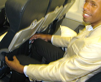 Jérémie Gabourg, coordonnateur marketing, longs-courriers de Air Transat
